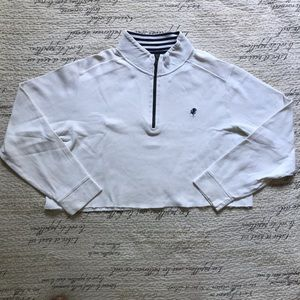 🔺4 FOR $20🔻 Cropped White Pullover